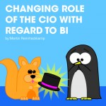 Changing role of the CIO with regard to BI