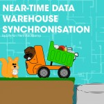 Near-time data warehouse synchronisation
