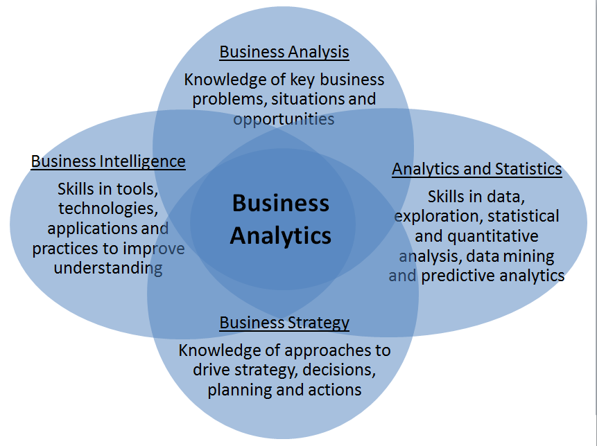 Business analytics - the domain of the data scientist