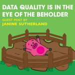 Data Quality is in the Eye of the Beholder