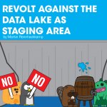 Criticisms against the data lake as staging area