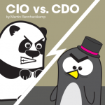 Chief Information Officer against Chief Data Officer
