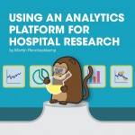 Using an analytics platform for hospital research