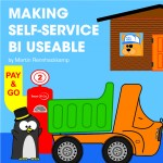 Making self-service BI usable